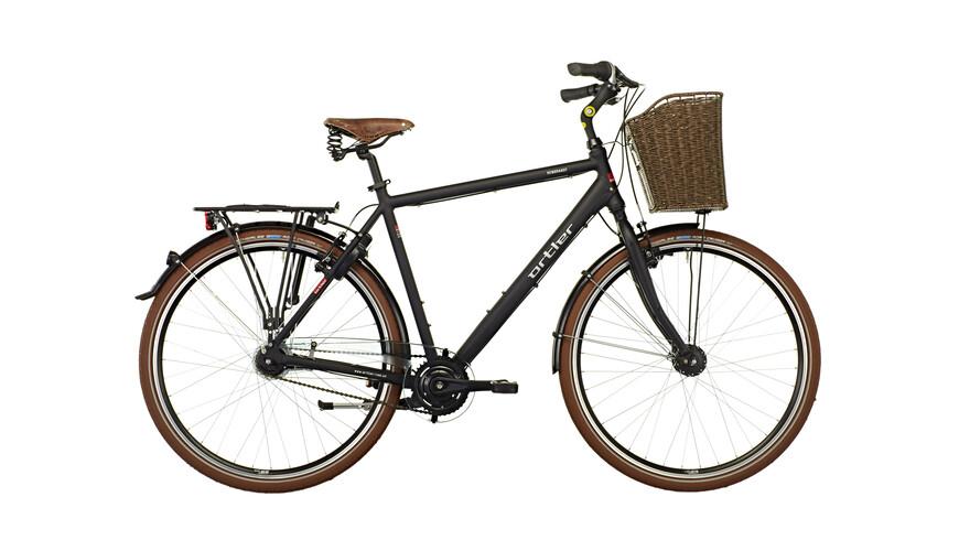 Ortler Rembrandt - Vélo de ville Homme - noir